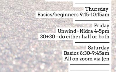 Online Schedule as of 4/4